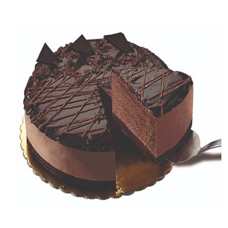 τούρτα παγωτό σοκολάτα